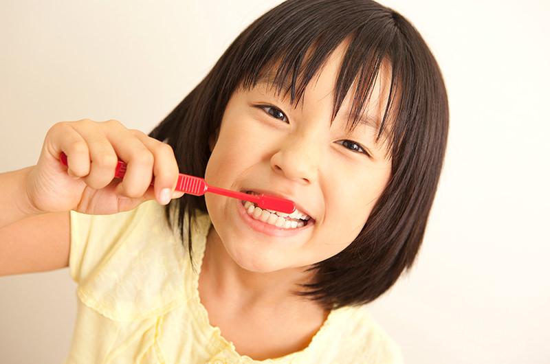 お子さまをむし歯にしないために・・・